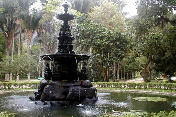 Jardim Botânico no Rio de Janeiro