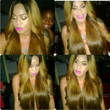 Was Toyin Lawani Actually Putting any Clothes?