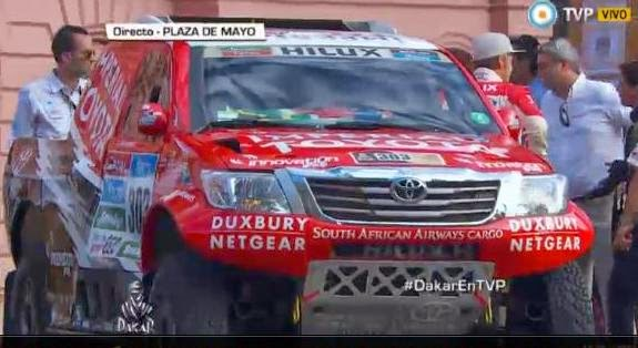 Görkemli yarış Dakar
