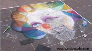 First Annual Festival of Street Chalk Art in Patzcuaro