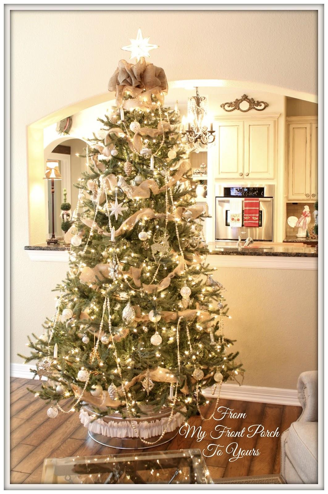 everything - Porch Christmas Tree