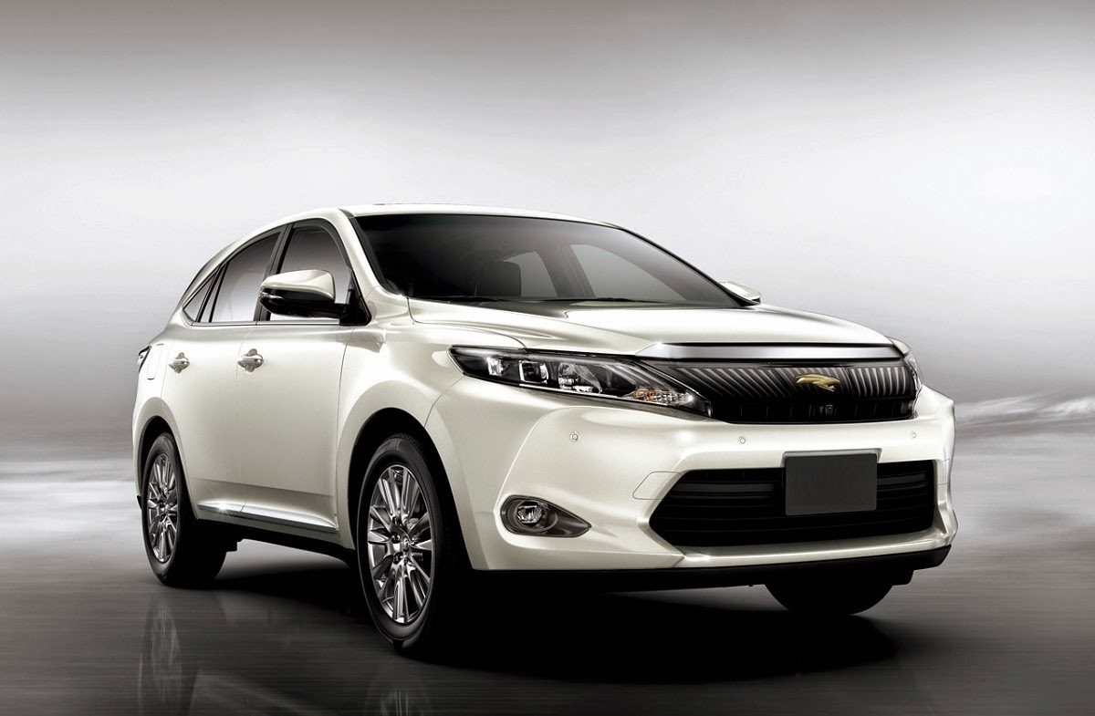 car reviews new car pictures for 2018 2019 2015 toyota harrier mid size crossover suv. Black Bedroom Furniture Sets. Home Design Ideas