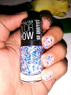 Product Review - Maybelline Color Show Go Graffiti Nail Enamels - Star Struck #802