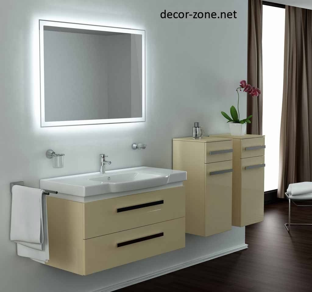 Mirror Lighting Throughout 15 Creative Bathroom Lighting Ideas Vanity Mirror And Light u2013 Beautiful House
