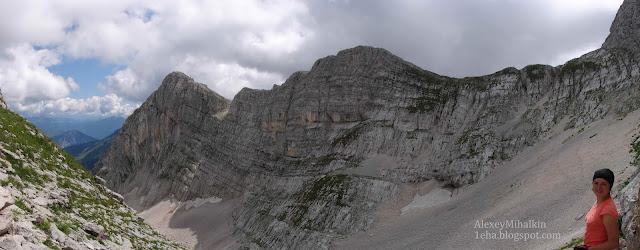 Горная долина панорама