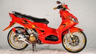 Modif Yamaha Nouvo 2007