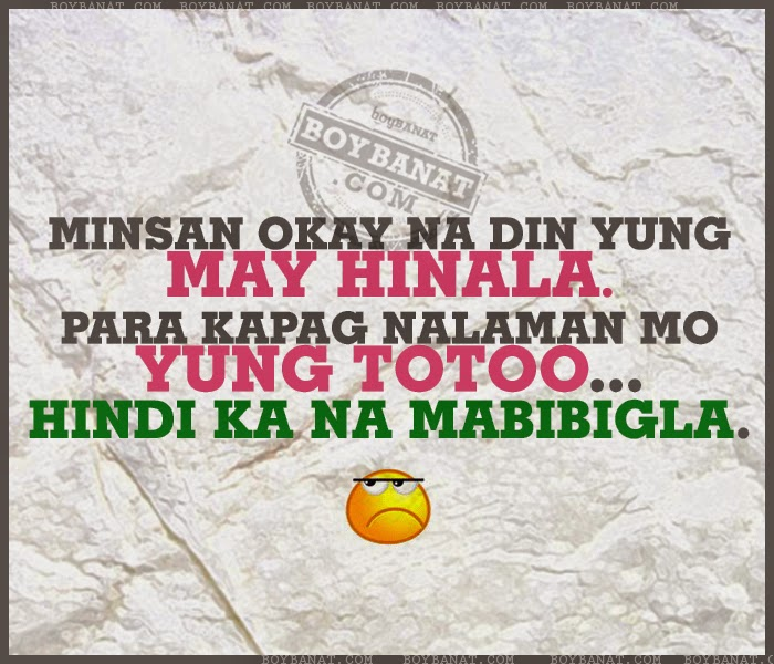 tagalog text love quotes and messages boy banat tagalog funny