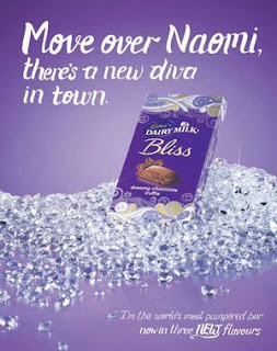 "Naomi Campbell Accuses Cadbury of Racism for Using Her Name to Promote New Bliss Product & Calling her ""Chocolate"""