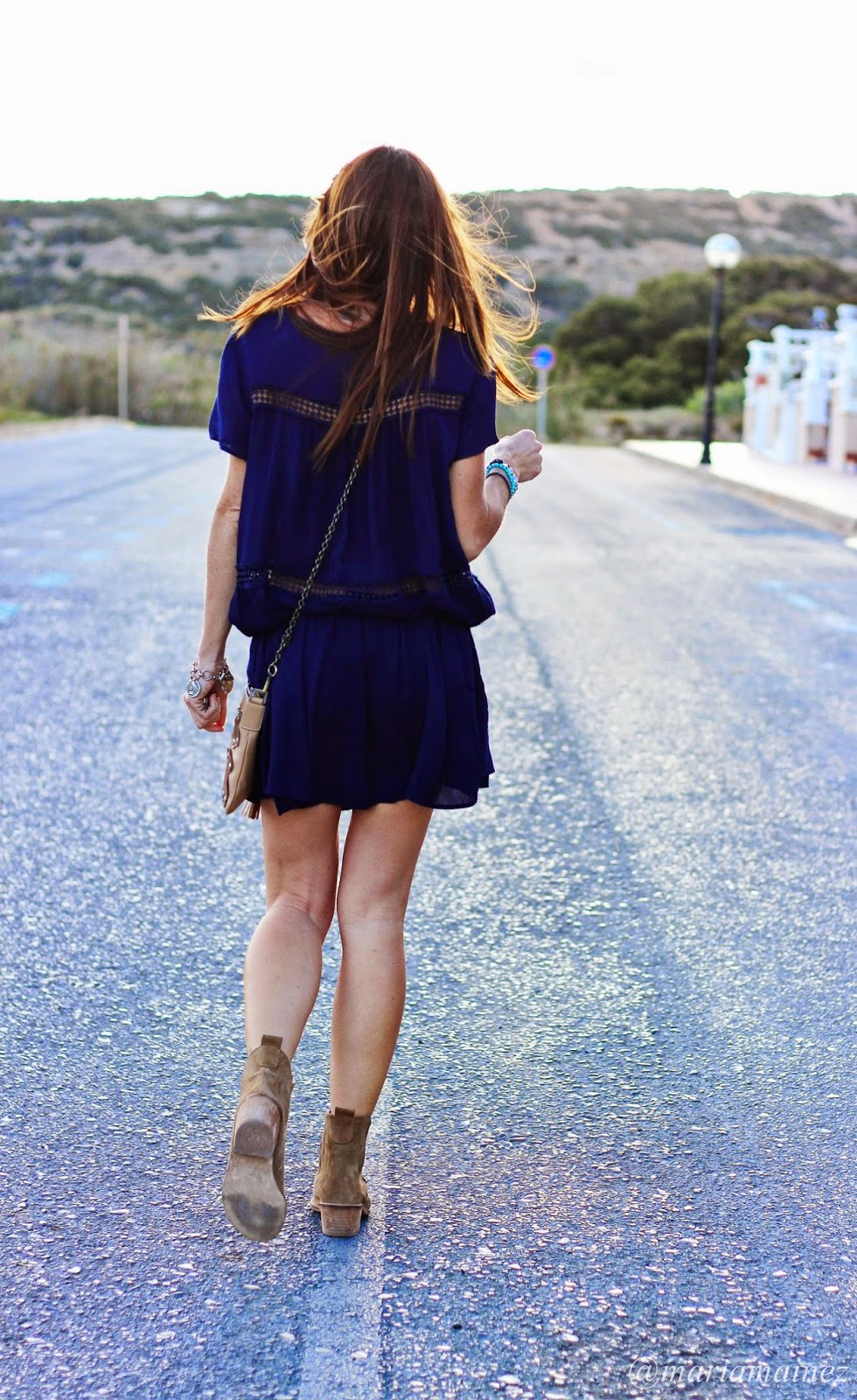 Estilo Boho- Coachella Look - botines verano- Sheinside dress - Low Cost