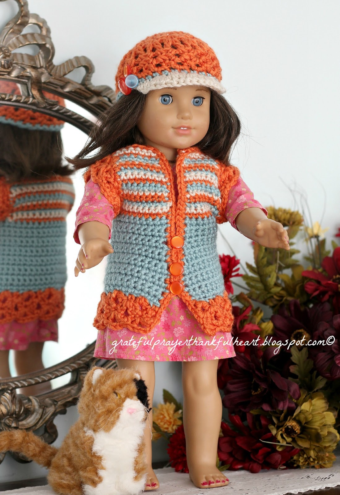 American Girl Crochet Pattern for dolls | Grateful Prayer | Thankful ...