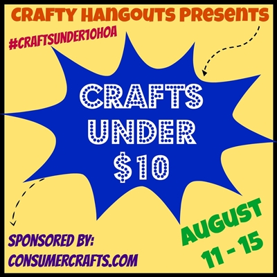 Crafts Under $10 via Crafty Hangouts! www.craftyhangouts.com