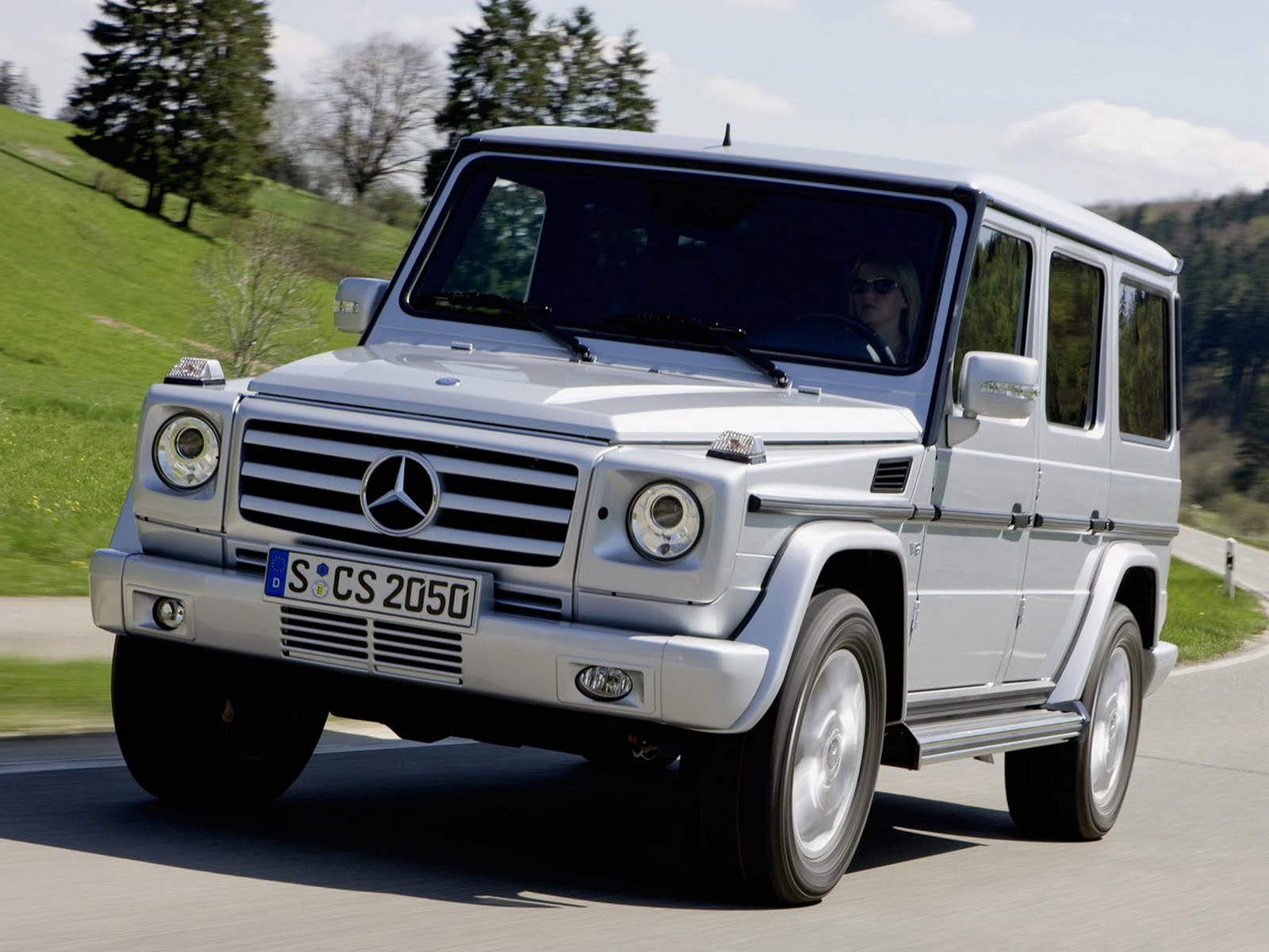 sports car mercedes g class jeep