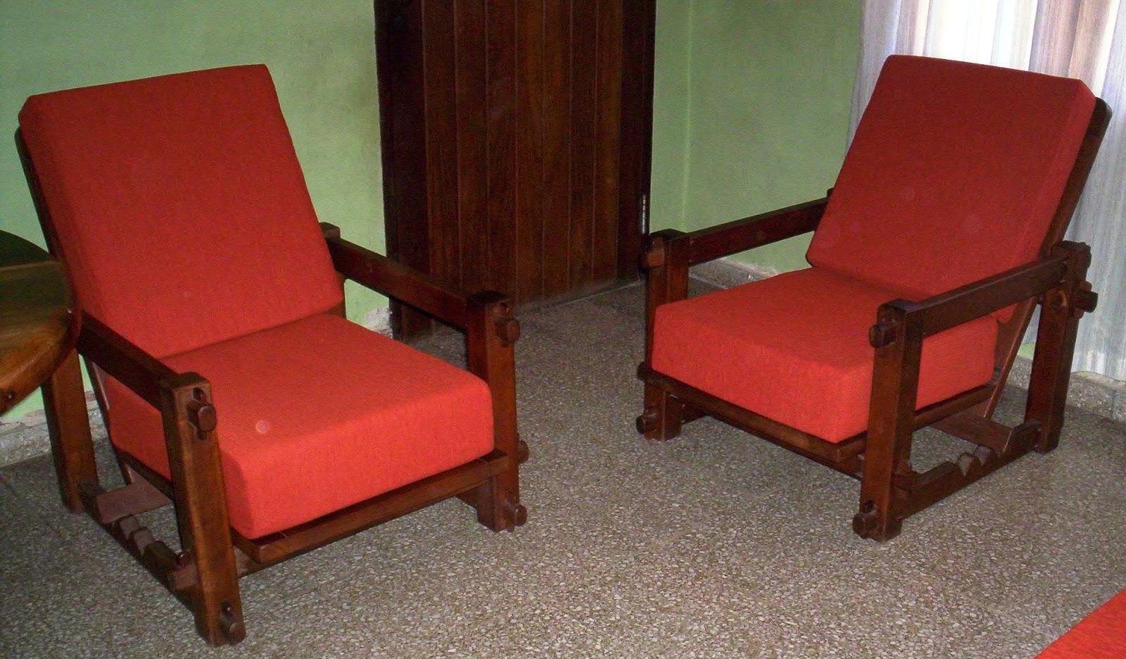 Reciclado de sillas y sillones diez almohadones for Sillas y sillones