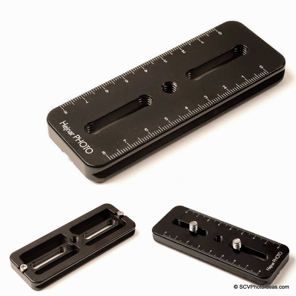 "Hejnar PHOTO A4-40 - 4""x3/8"" rail overview"