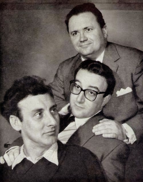 The Goons: Peter Sellers, Spike Milligan, and Harry Secombe