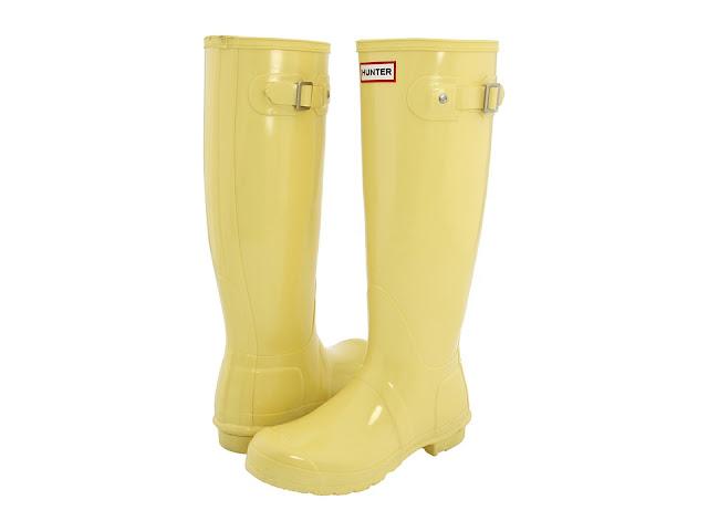 Hunter Boots Yellow8