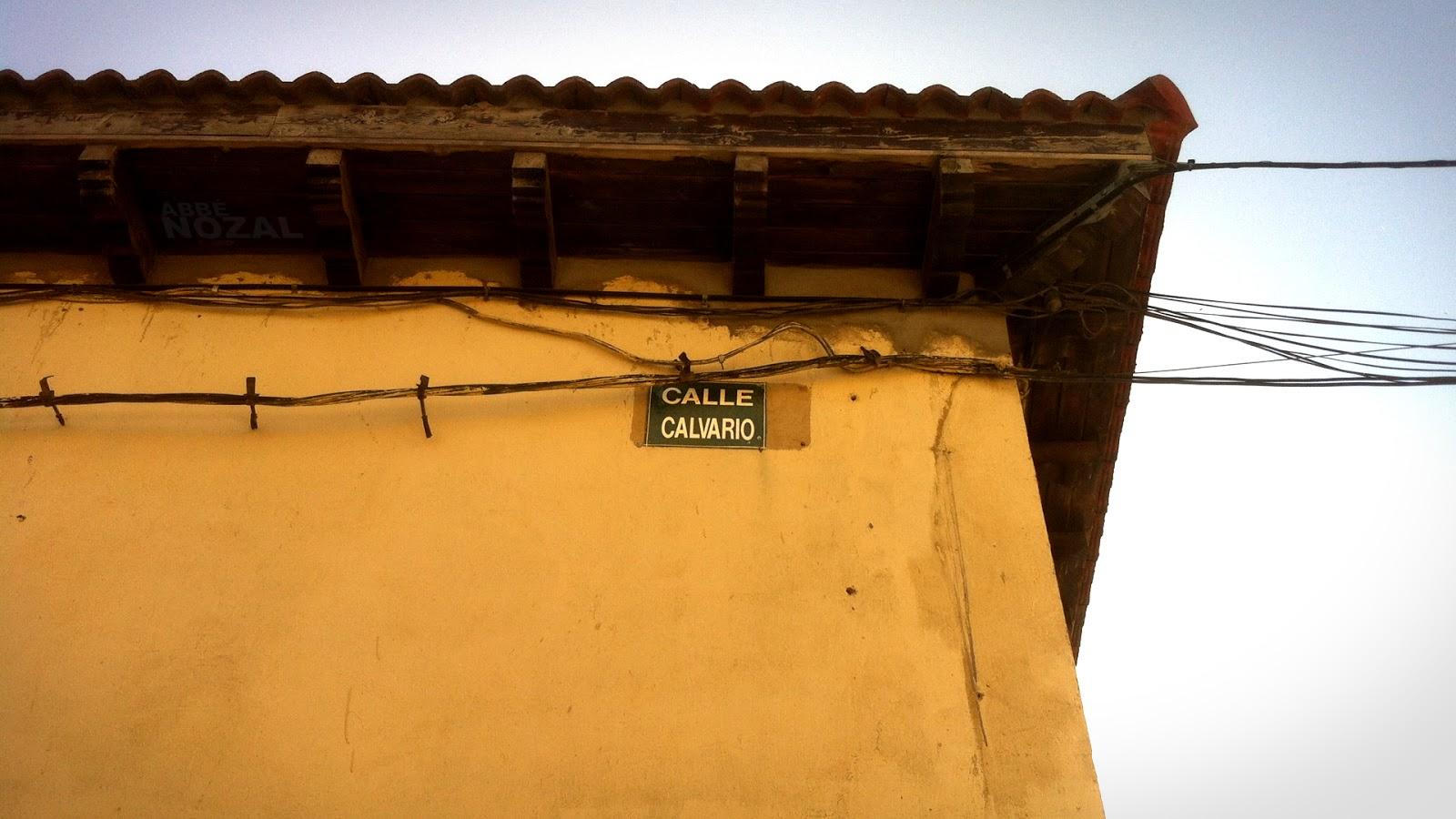 Calle Calvario, 2014 Abbé Nozal