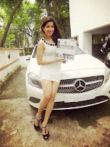 MERCEDES BENZ makes me ACHIEVER OF THE YEAR 2014 in field of FITNESS