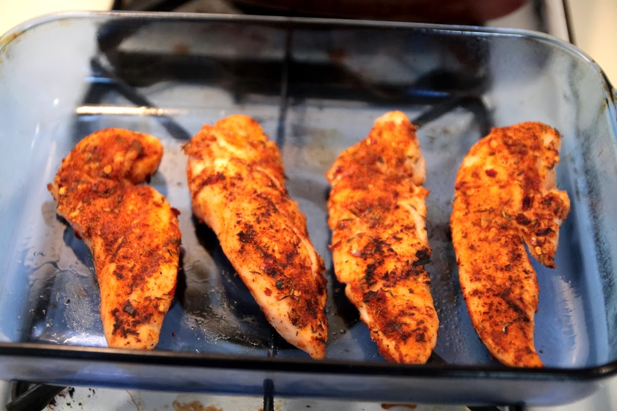 Spicy Blackened Chicken