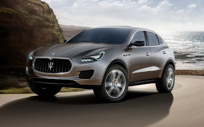 Maserati is already talk of a compact SUV