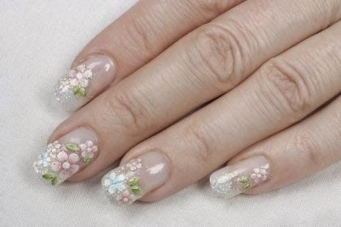 Uñas Decoradas con Flores, parte 7
