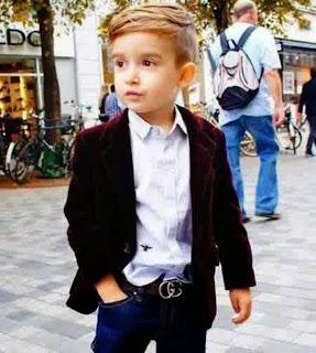 Gambar anak laki-laki keren dengan busana terbaik