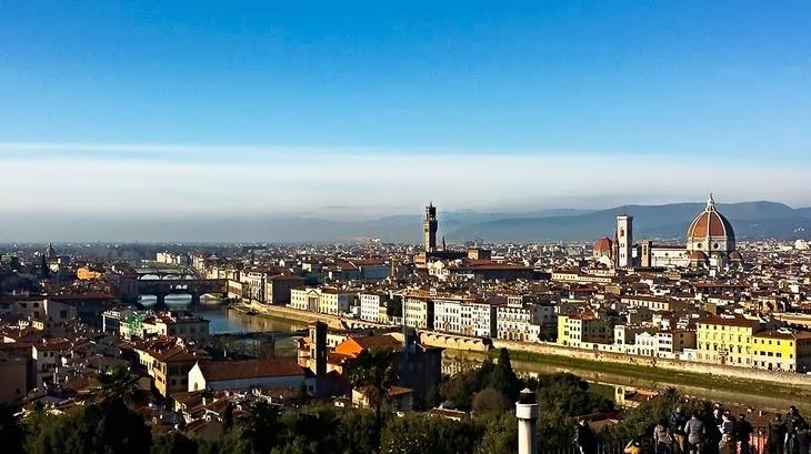 Firenze Piazzale Michelangelo veduta Firenze Piazza Michelangelo vista mozzafiato Firenze viaggio Firenze thesparklingcinnamon
