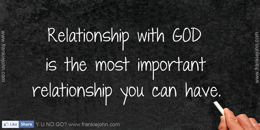 your relationship with god quotes
