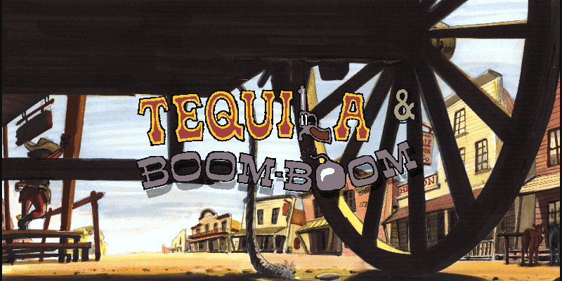 Tequila & Boom-Boom title screen