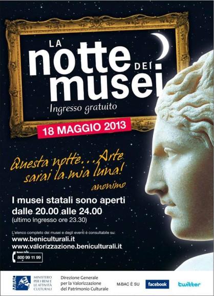 La notte dei musei MIBAC sabato 18 maggio gratis Lombardia arte