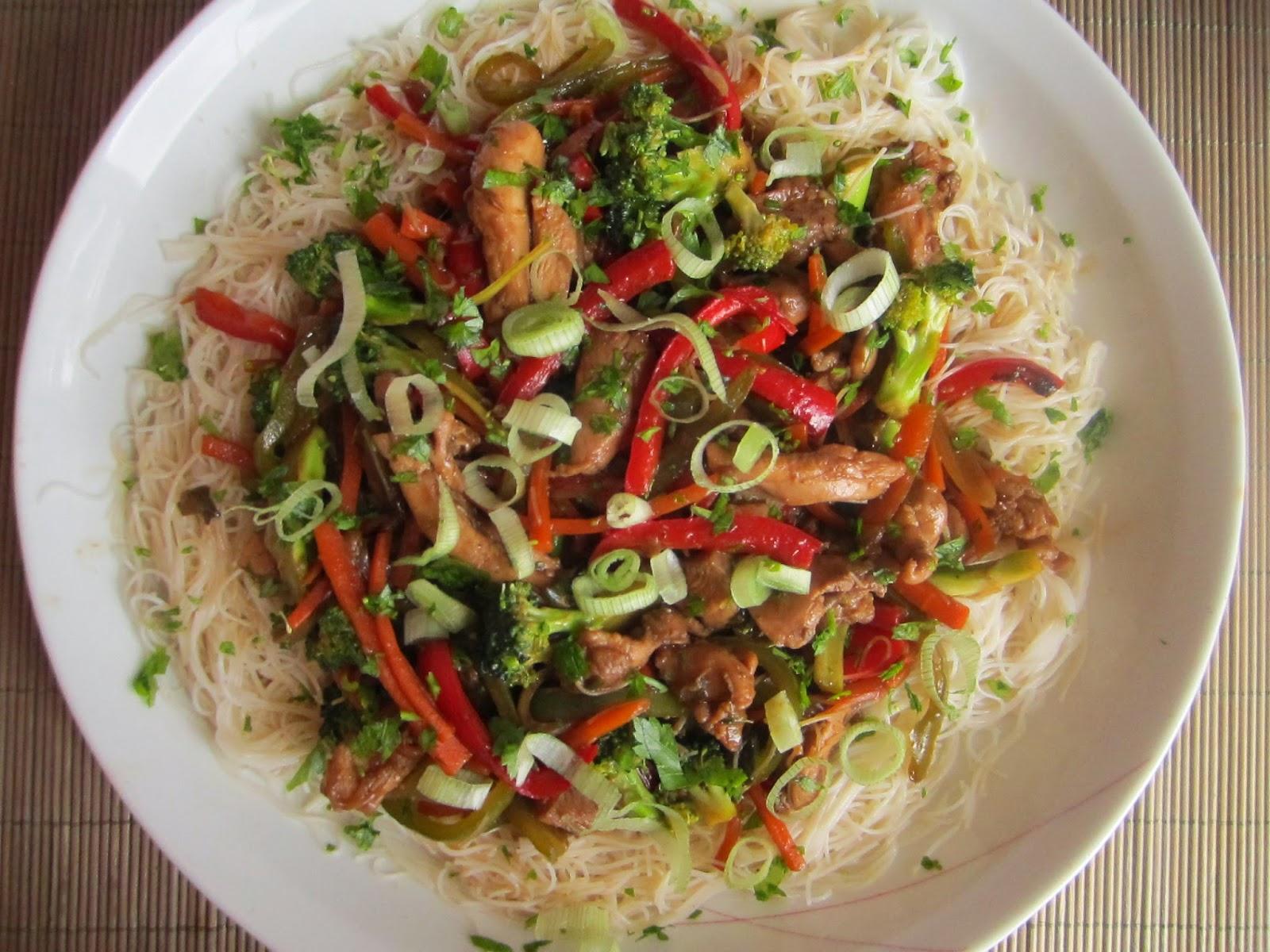 El restaurante del fin del mundo fideos de arroz chinos for Cocinar fideos de arroz