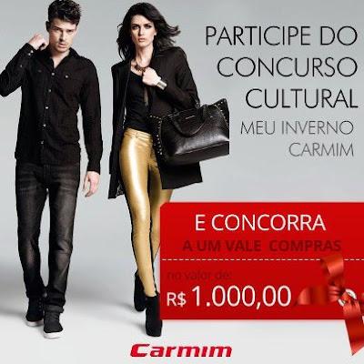 """Concurso Cultural """"Meu inverno Carmim""""  2013"""