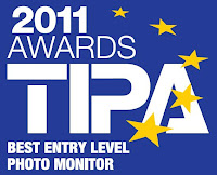 Best Entry Level Photo Monitor TIPA awards 2011