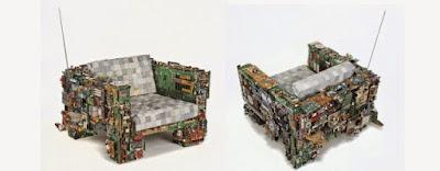 karya seni unik dari limbah