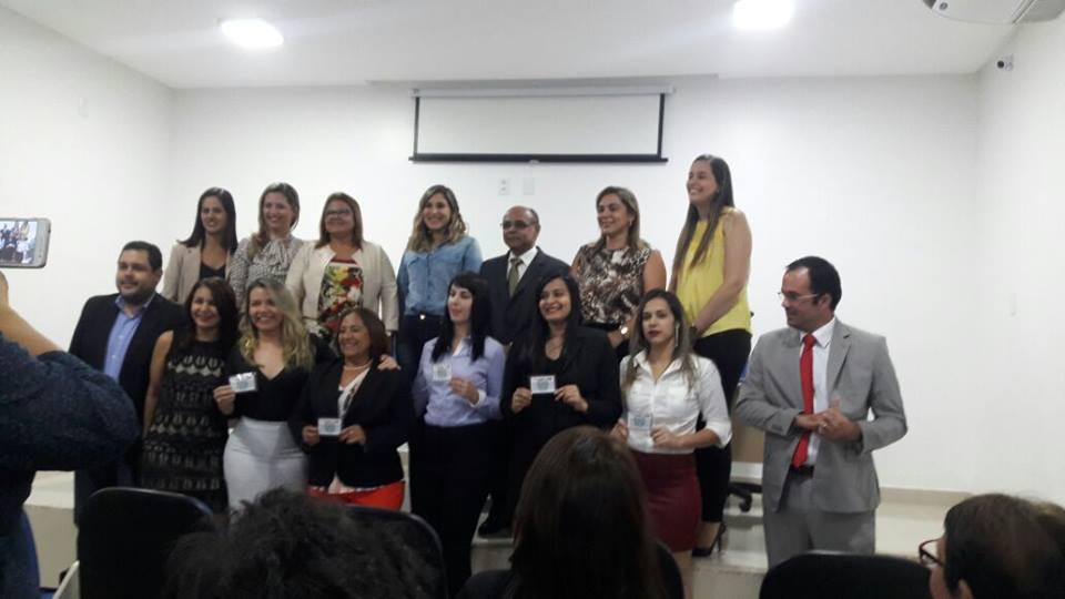 Vagner B. Montalvão - Seleninade recebimento Carteira OAB-BA