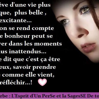 Belle rencontre signification