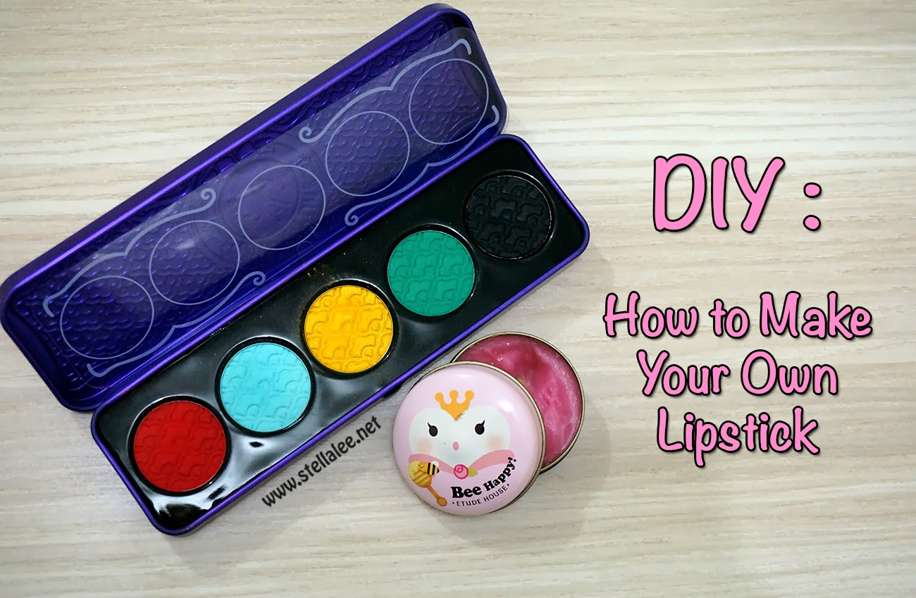 DIY : How to Make Your Own Black Lipstick - Stella Lee ...