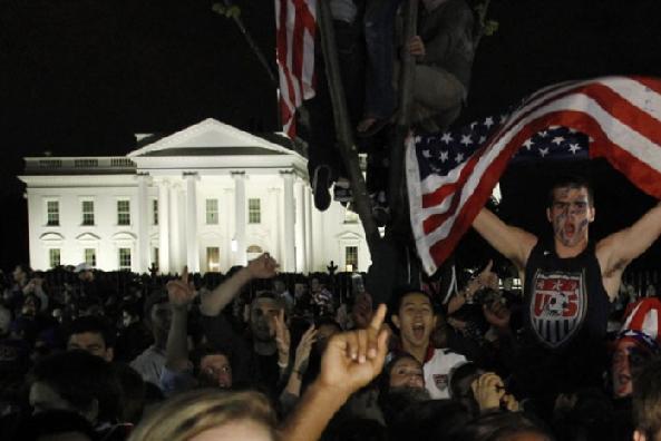comemoração nos EUA pela morte de Bin Laden