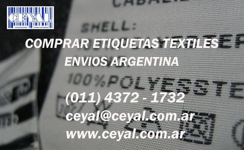 Etiquetado para ropa  Jujuy