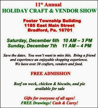 12-6/7 Holiday Craft & Vendor Show
