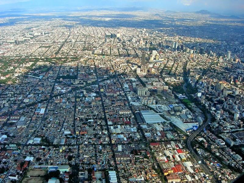 Città del Messico dall'alto