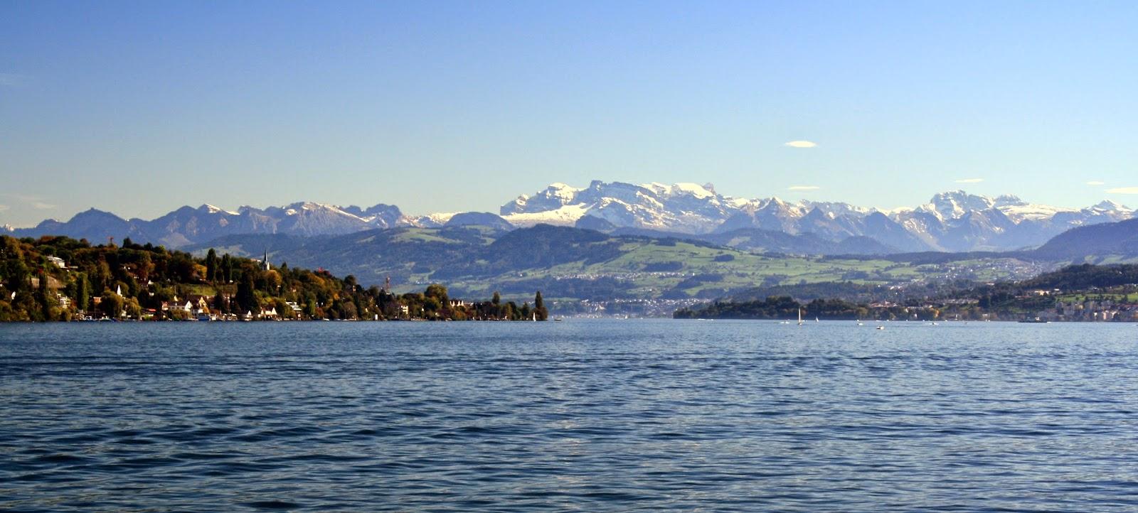 Lake Zurich, Schweiz
