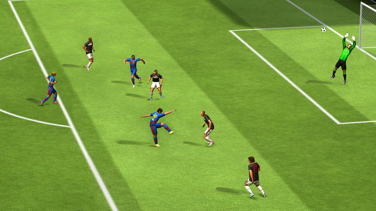 Download best football or soccer games for android in 2014 - Real Football 2013 For Android Download