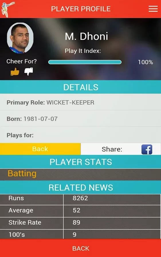 ICC Cricket World Cup 2015 Fantasy Android App released+Download 5