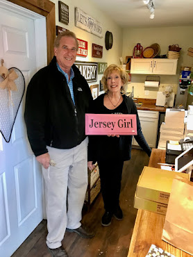Jersey Girl market/florist made perfect pit stop on way from CT to MN recently.