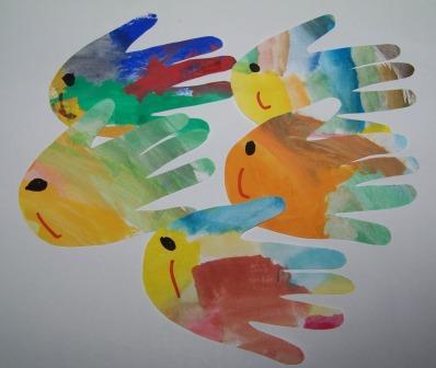Mamma giochiamo lavoretti per il 1 di aprile for Immagini pesciolini
