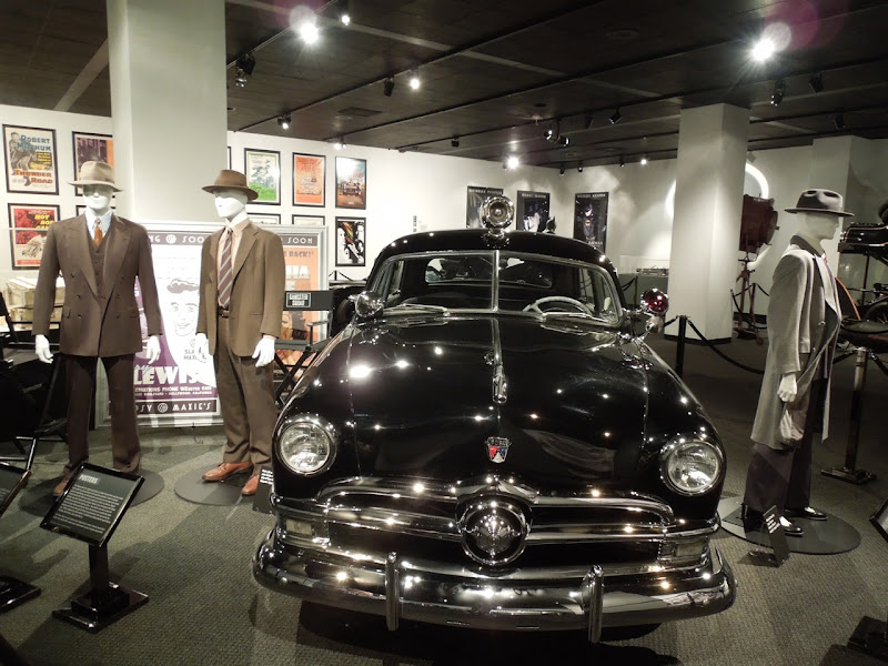 Gangster Squad movie costume car display