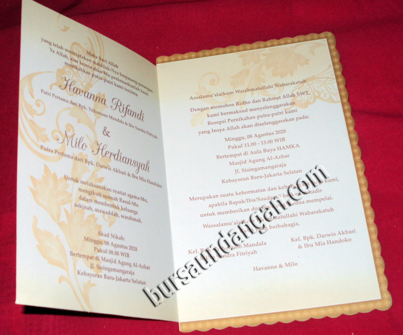 UNDANGAN .::| Kartu Undangan Pernikahan | Desain Undangan Pernikahan