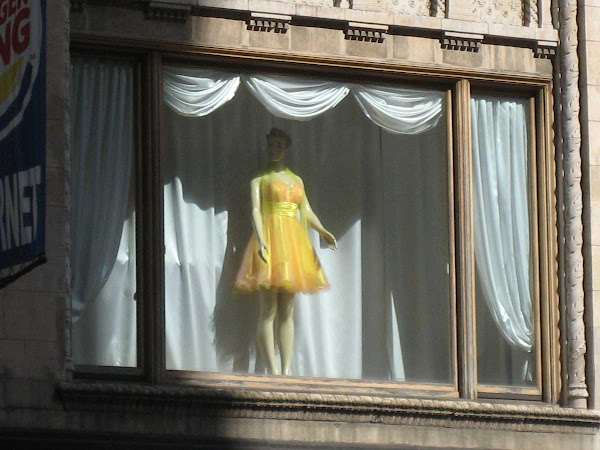 Window Maiden - At the former Lerner's on 7th Ave. near 36th St.