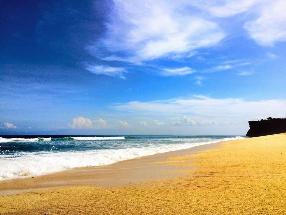 Pantai Balangan Uluwatu Di Bali
